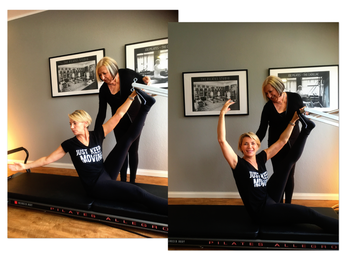 Master Teacher Kathy Corey with Tamara Choynowski